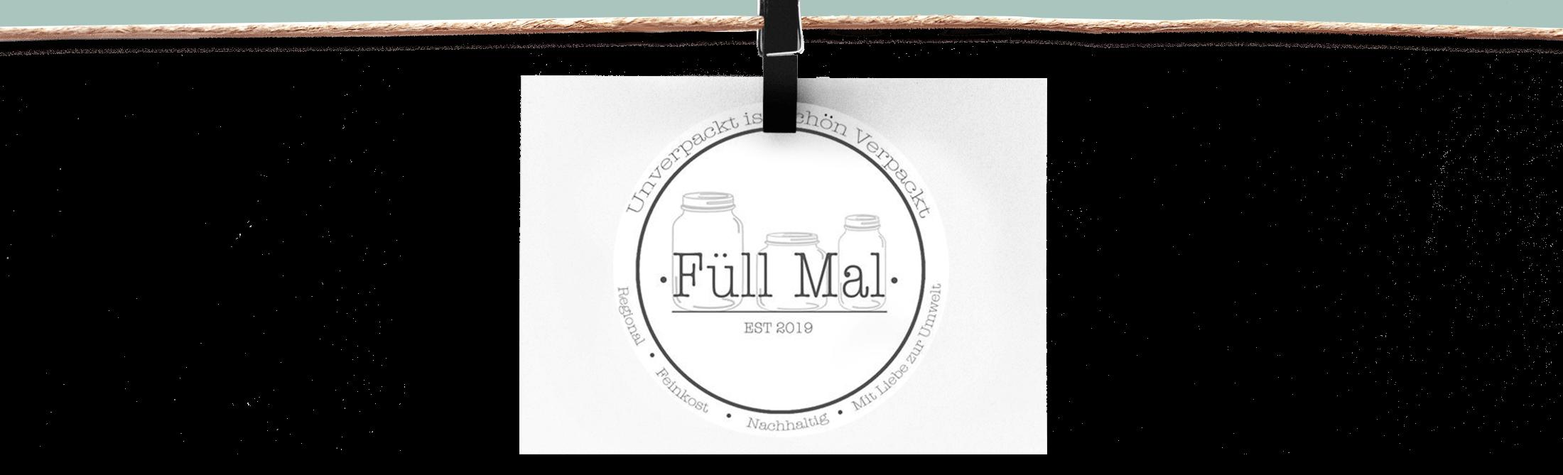 Unverpackt ist schön verpackt - Füll Mal - Logo