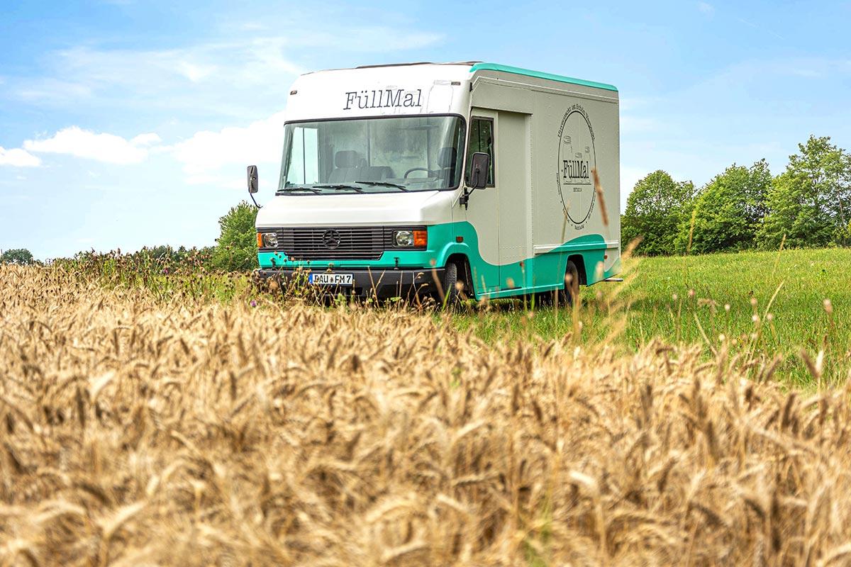"""Der  """"Füll Mal""""-Truck"""